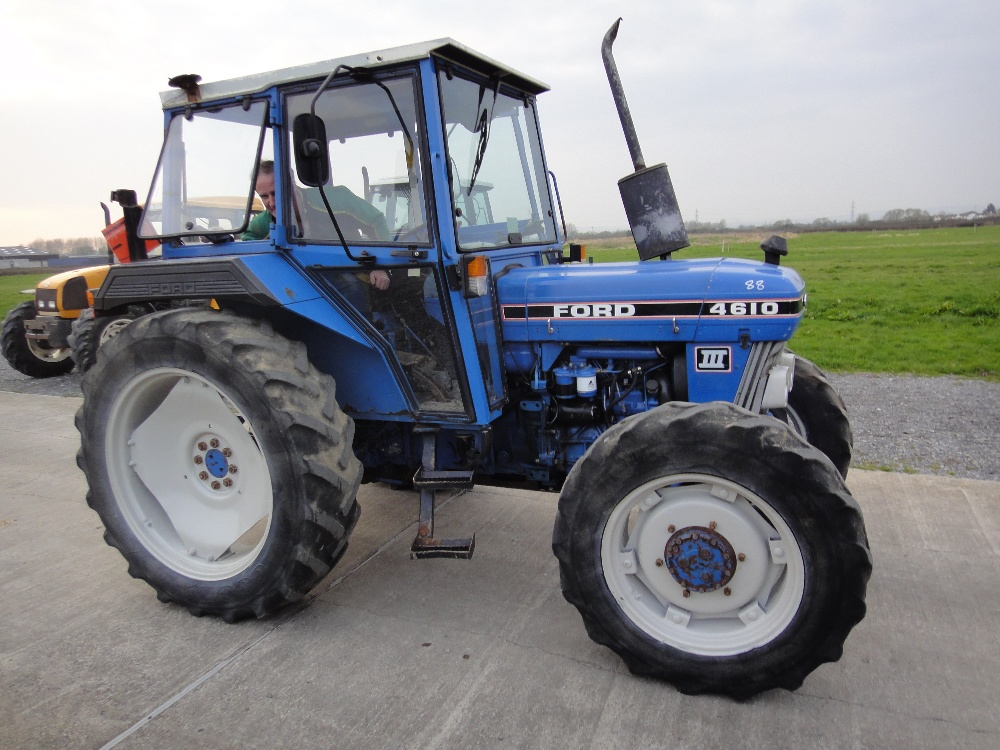 ford 4610 tractor operators manual