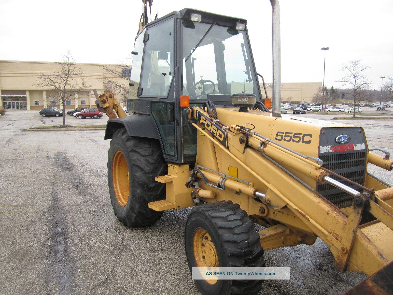 Ford 555c Backhoe Loader Tractor | Ford Backhoe Loader: Ford