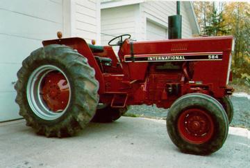 International Harvester 584 Farm Tractor | International