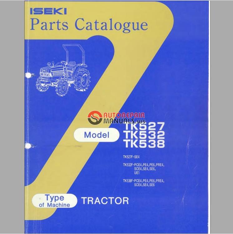 Iseki Tk527 Farm Tractor | Iseki Farm Tractors: Iseki Farm Tractors