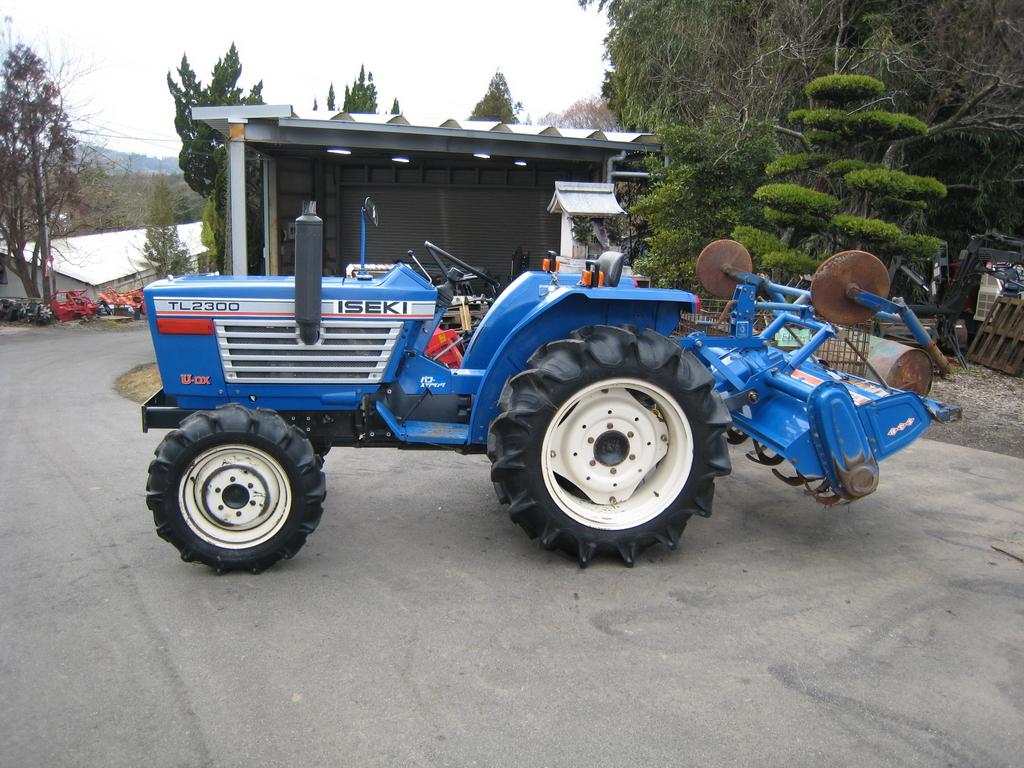 Iseki Tl2300 Farm Tractor | Iseki Farm Tractors: Iseki Farm Tractors
