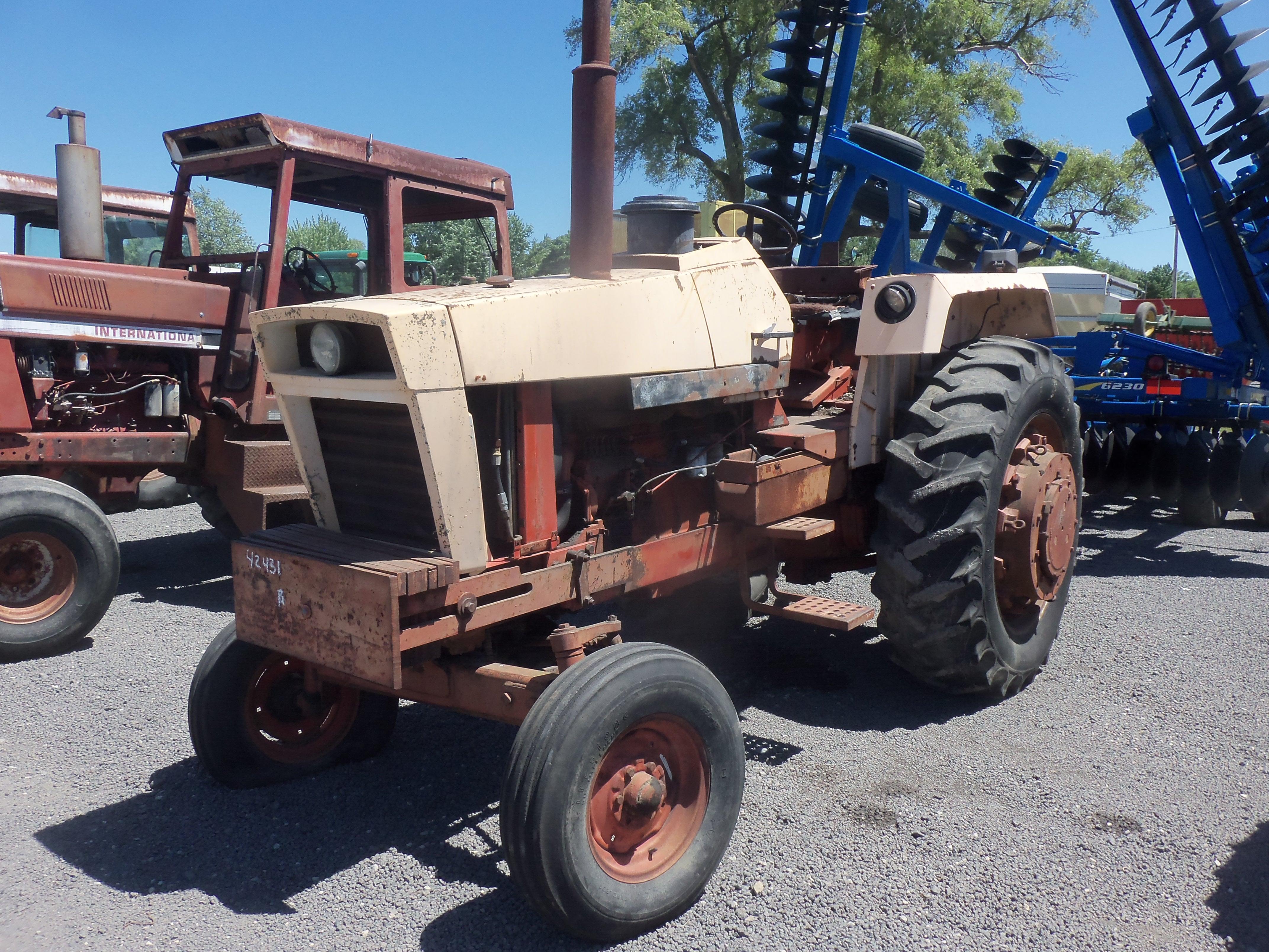 Ji Case 1175 Farm Tractor Tractors David Brown 1210 Wiring Diagram J I Equipment Pinterest