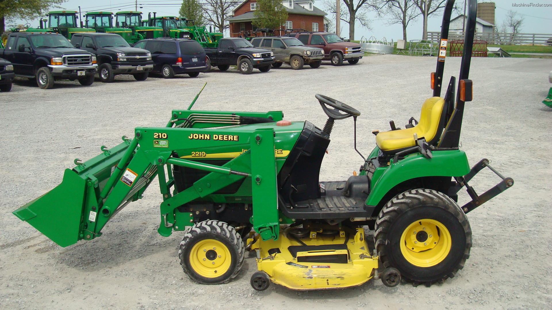 2004 john deere 2210 tractors - compact (1-40hp ) - john deere