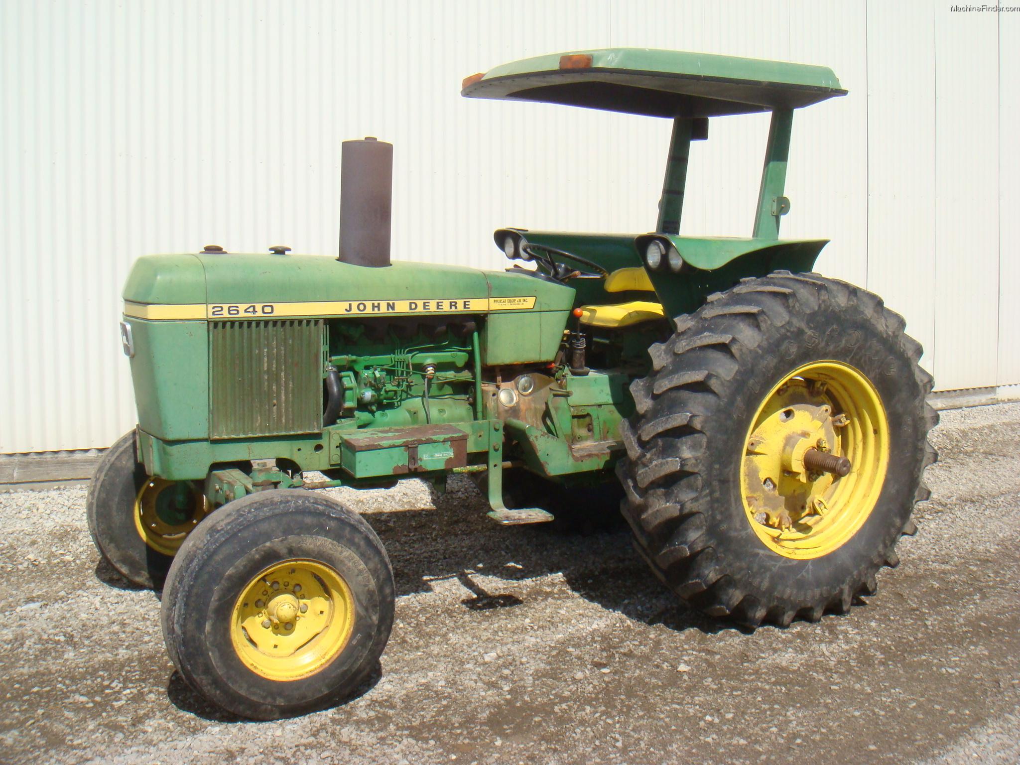 John Deere 2750 Farm Tractor Tractors 2240 Wiring Diagram 1976 2640 Utility 40 100hp