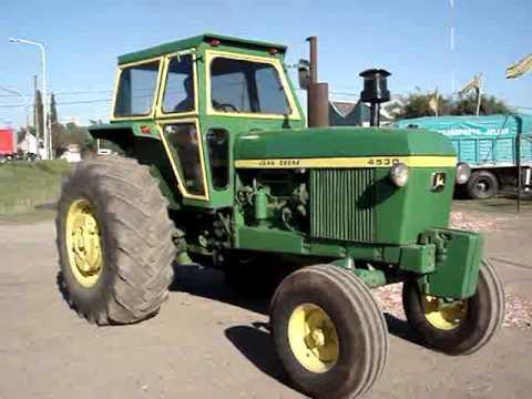 John Deere 4555 Farm Tractor   John Deere Farm Tractors
