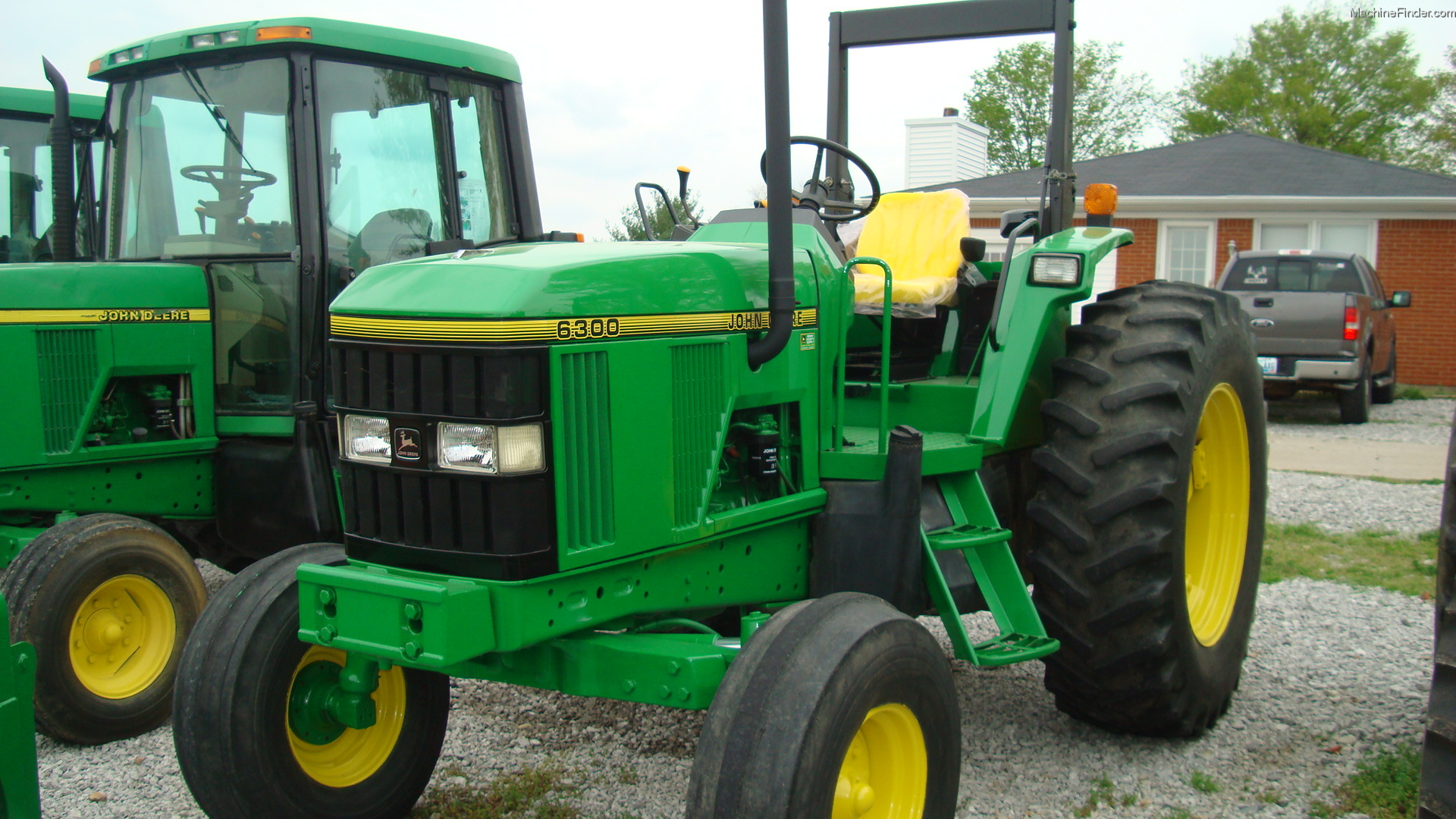 John Deere 6310 Farm Tractor Tractors 6320 Wiring Diagram 1997 6300 Utility 40 100hp
