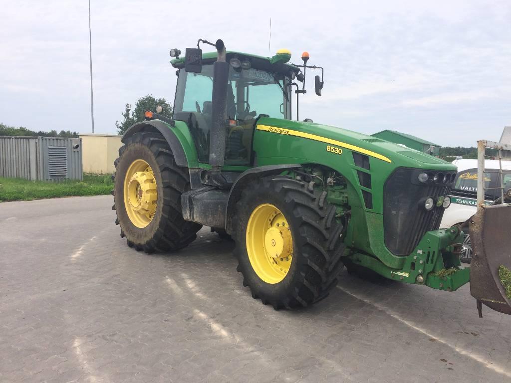 John Deere 8530 Farm Tractor John Deere Farm Tractors John Deere