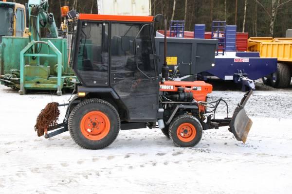 Kubota B7100hst Farm Tractor | Kubota Farm Tractors: Kubota Farm