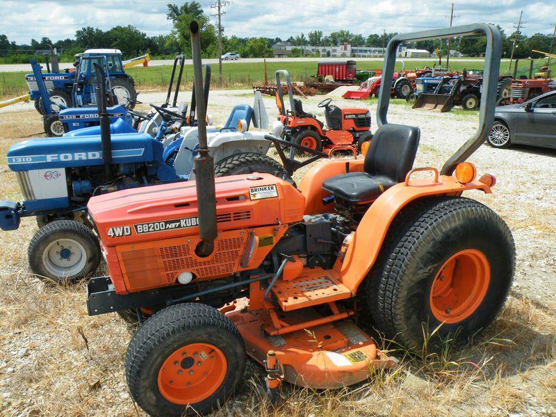 Kubota B8200 Farm Tractor | Kubota Farm Tractors: Kubota