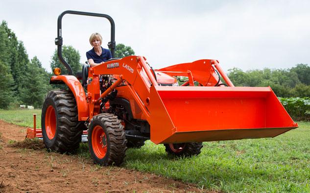 Kubota L2501 Farm Tractor | Kubota Farm Tractors: Kubota