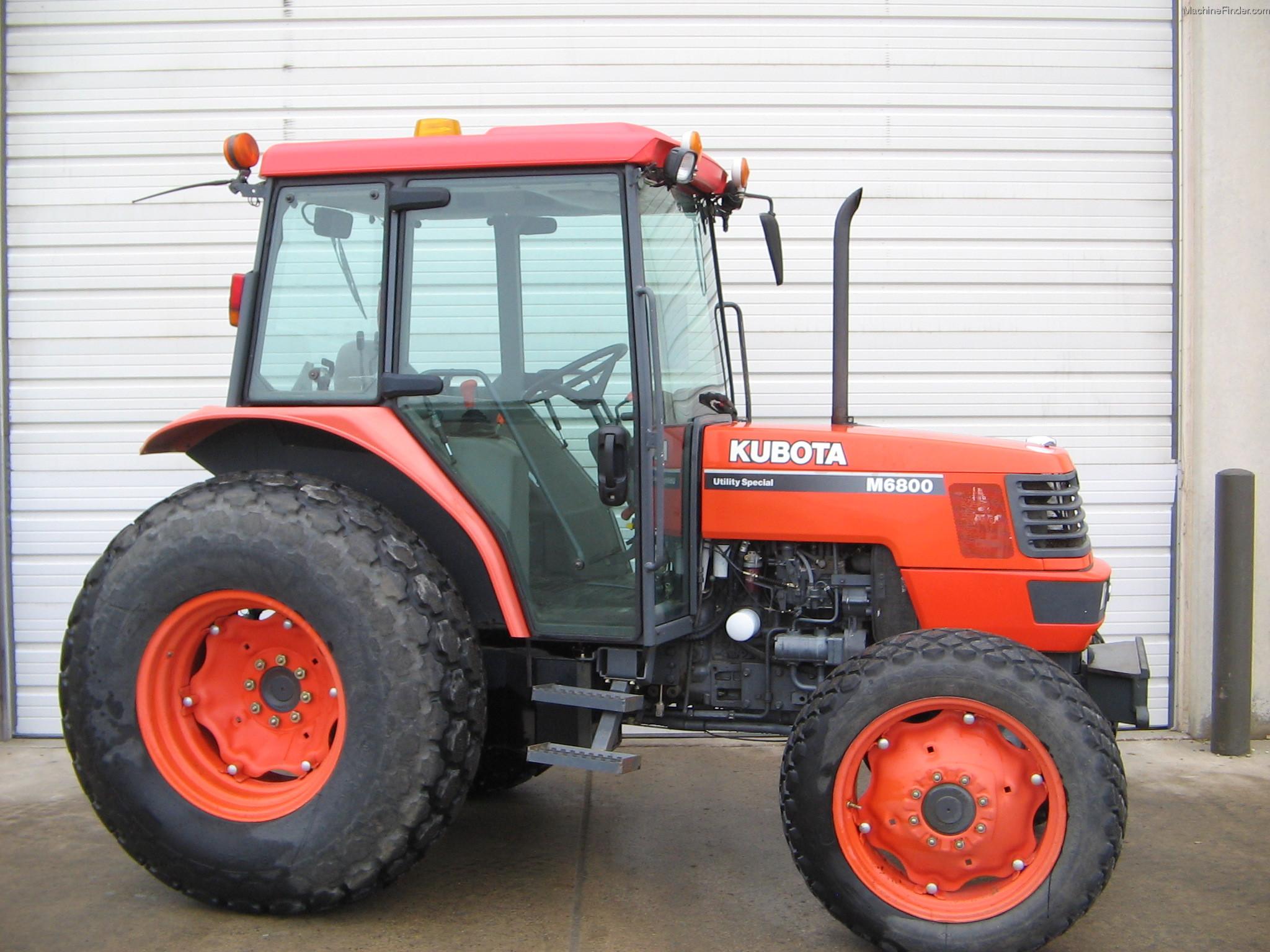 Kubota M6800 Farm Tractor Tractors M9540 Wiring Diagram