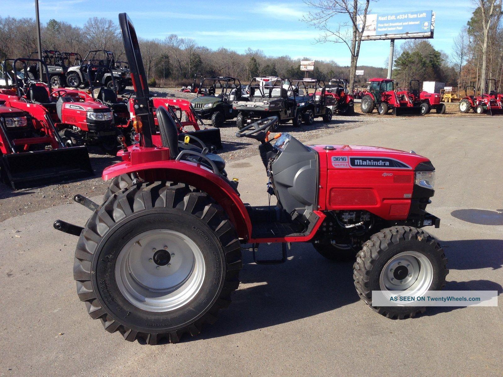 Mahindra 3616 Farm Tractor | Mahindra Farm Tractors: Mahindra Farm on