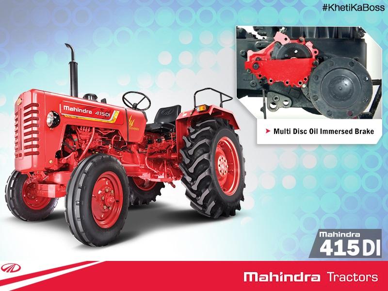 Mahindra 4505 Farm Tractor | Mahindra Farm Tractors: Mahindra Farm
