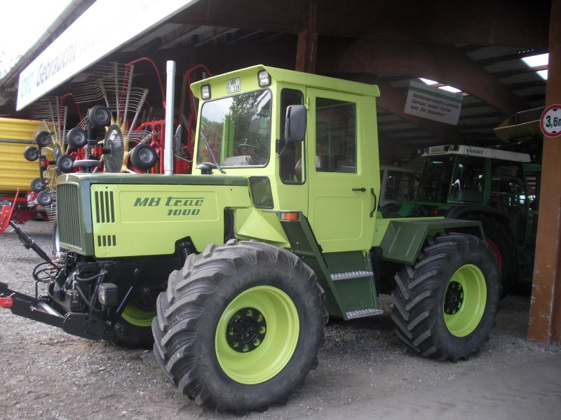 Super Mercedes Benz Trac 1000 Farm Tractor | Mercedes Benz Farm Tractors #SB_79