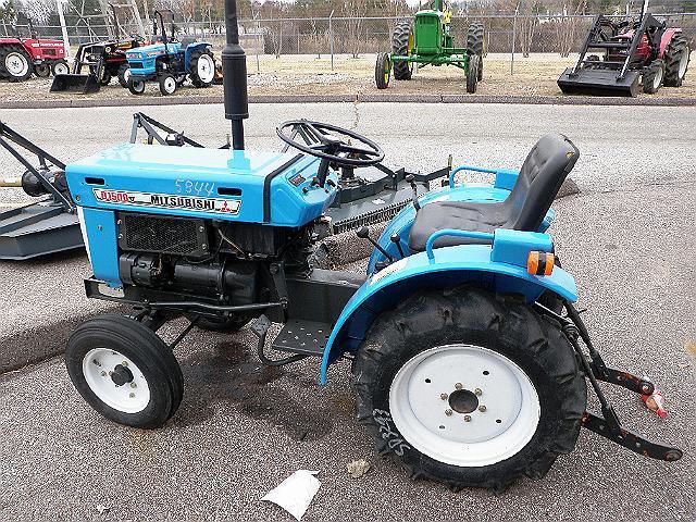 Mitsubishi D1500 Farm Tractor   Mitsubishi Farm Tractors