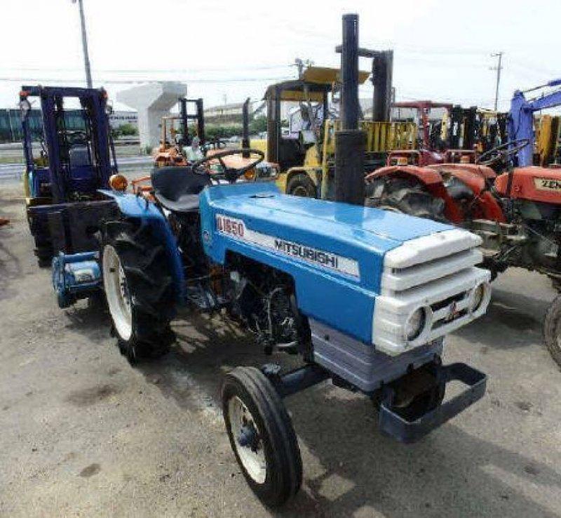 Mitsubishi D1650 Farm Tractor   Mitsubishi Farm Tractors: Mitsubishi