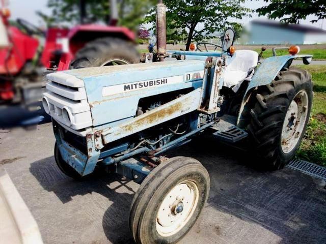 Mitsubishi D2350 Farm Tractor   Mitsubishi Farm Tractors: Mitsubishi