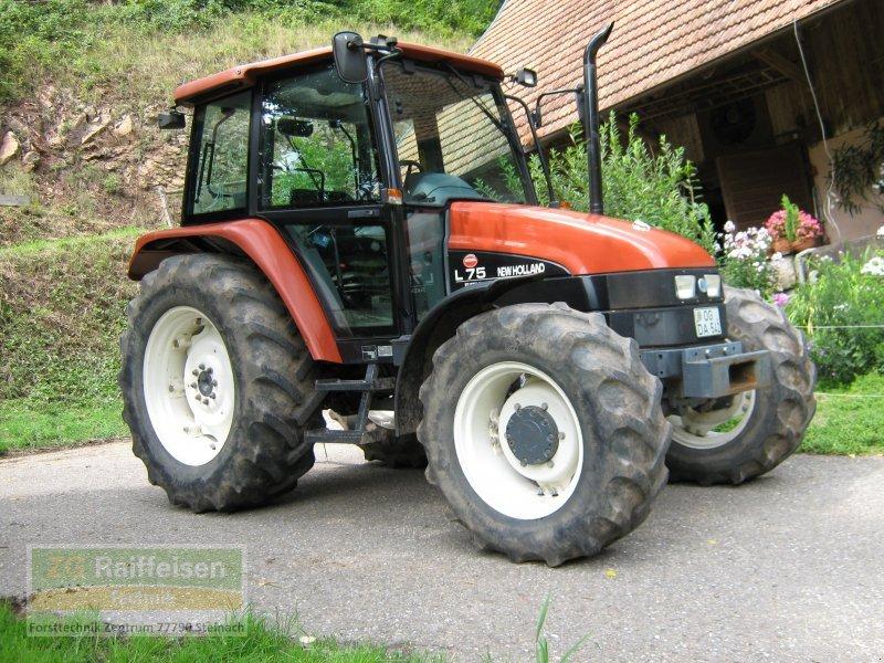 New Holland L75 Farm Tractor | New Holland Farm Tractors: New