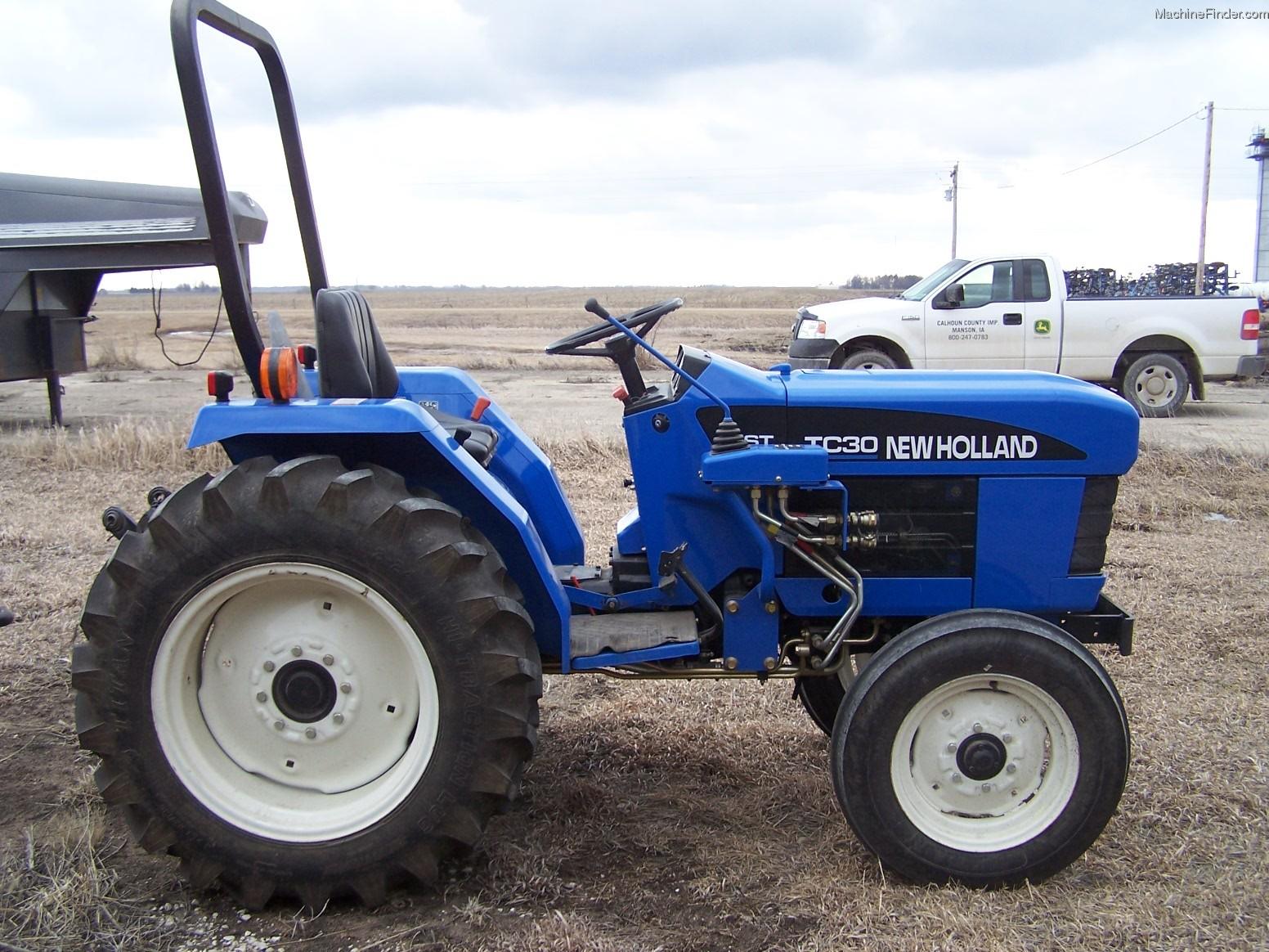New Holland Tc30 Farm Tractor   New Holland Farm Tractors