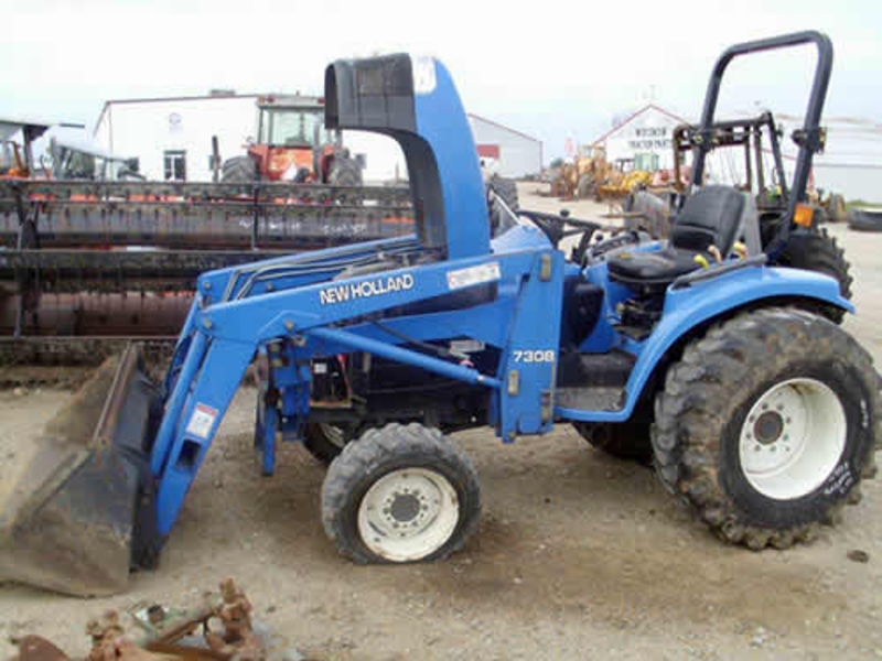 New Holland Tc33 Farm Tractor   New Holland Farm Tractors