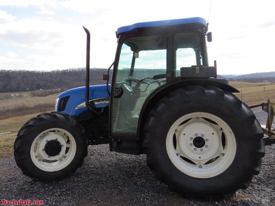 New Holland Tn75 Farm Tractor | New Holland Farm Tractors