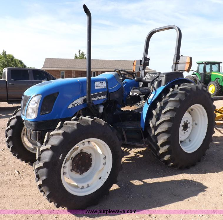 New Holland Tn70a Farm Tractor | New Holland Farm Tractors: New