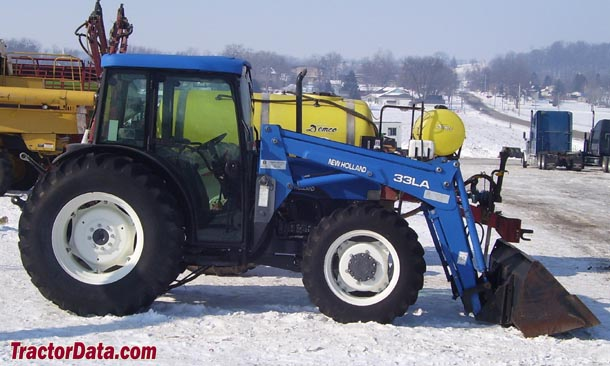 New Holland Tn75 Farm Tractor | New Holland Farm Tractors: New