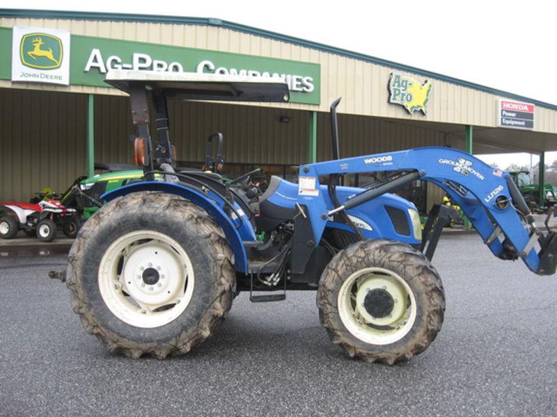 New Holland Tn75a Farm Tractor | New Holland Farm Tractors: New