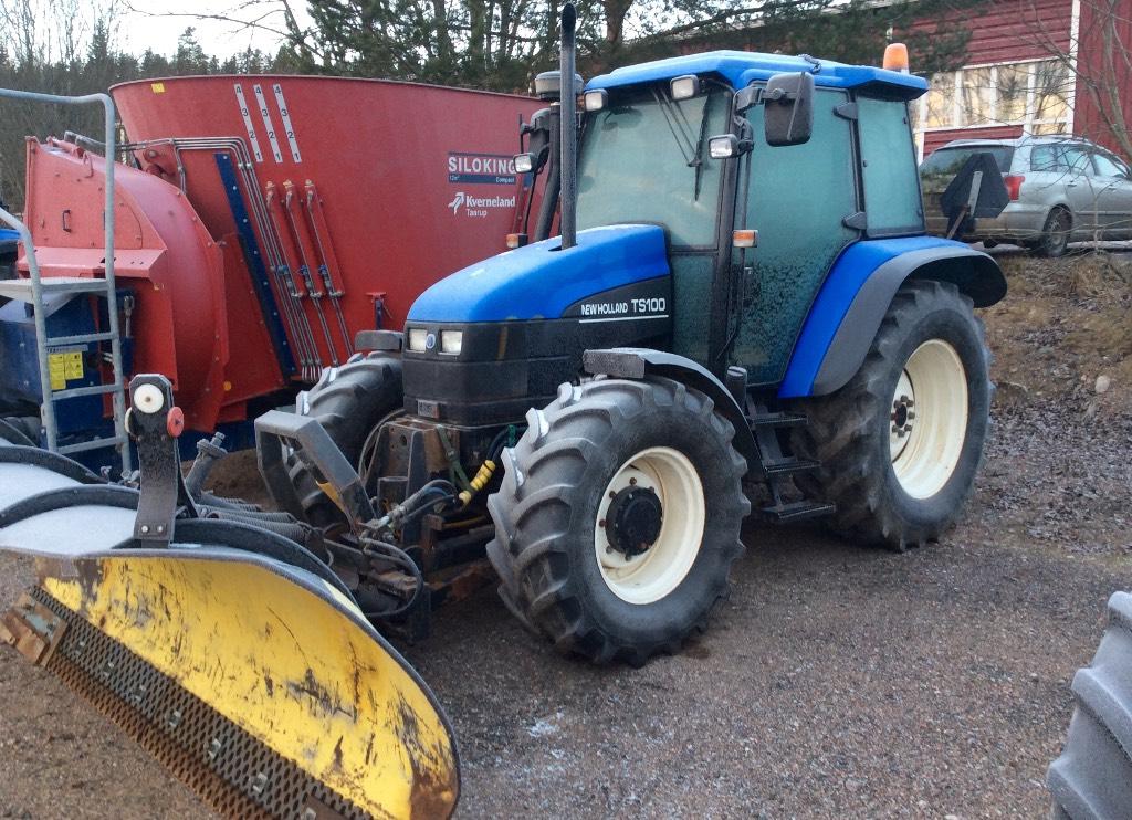 New Holland Ts100 Farm Tractor | New Holland Farm Tractors