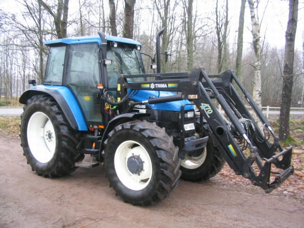 New Holland Ts110 Farm Tractor | New Holland Farm Tractors: New