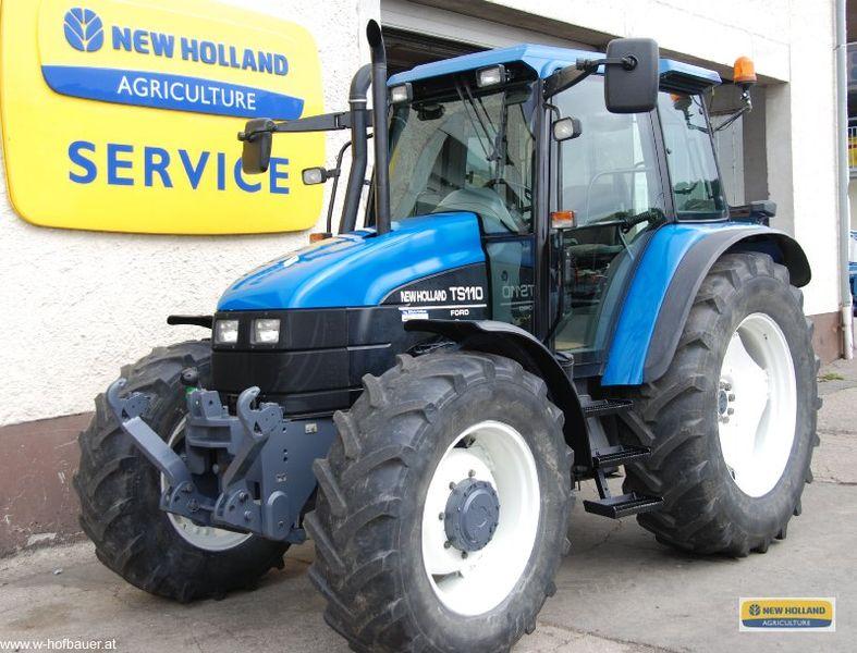 New Holland Ts110 Farm Tractor | New Holland Farm Tractors: New