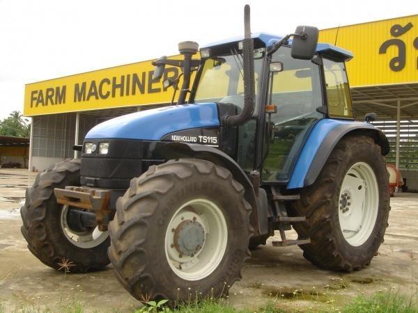 New Holland Ts115 Farm Tractor | New Holland Farm Tractors: New