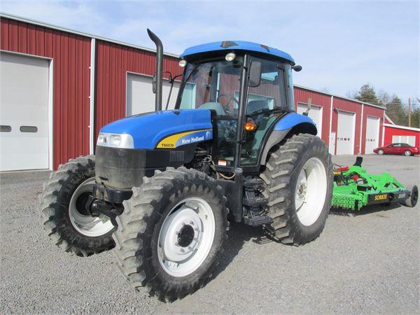New Holland Ts6030 Farm Tractor | New Holland Farm Tractors: New