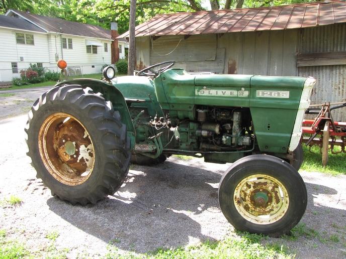 Oliver 1265 Farm Tractor | Oliver Farm Tractors: Oliver Farm ... on