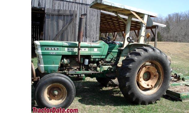 Oliver 1355 Farm Tractor | Oliver Farm Tractors: Oliver Farm ... on