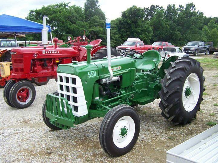 Oliver 550 Farm Tractor | Oliver Farm Tractors: Oliver Farm