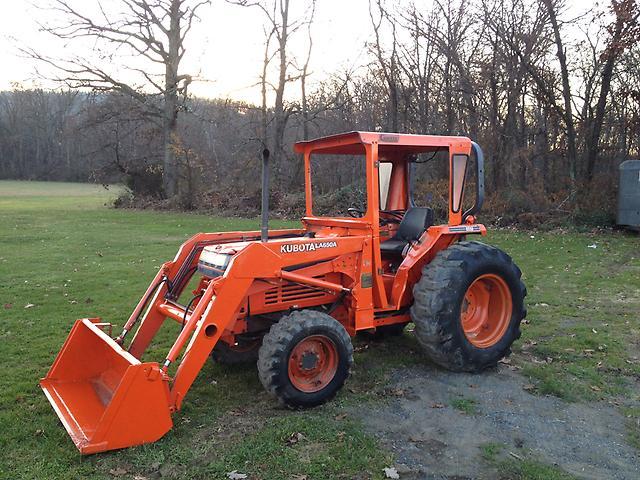 Kubota L3650 Backhoe Loader Tractor | Kubota Backhoe Loader