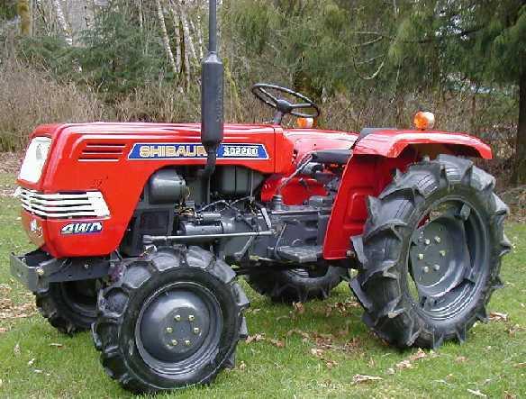 Shibaura Sd2640 Farm Tractor | Shibaura Farm Tractors: Shibaura Farm