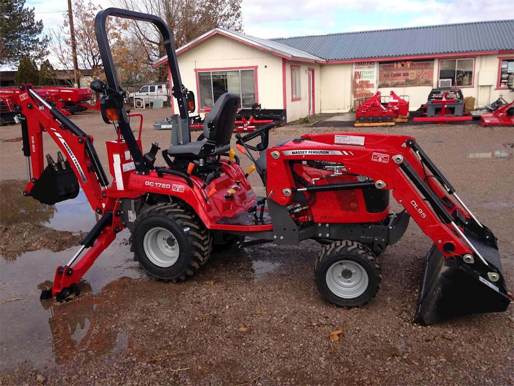 Massey Ferguson Gc1720 Backhoe Loader Tractor | Massey