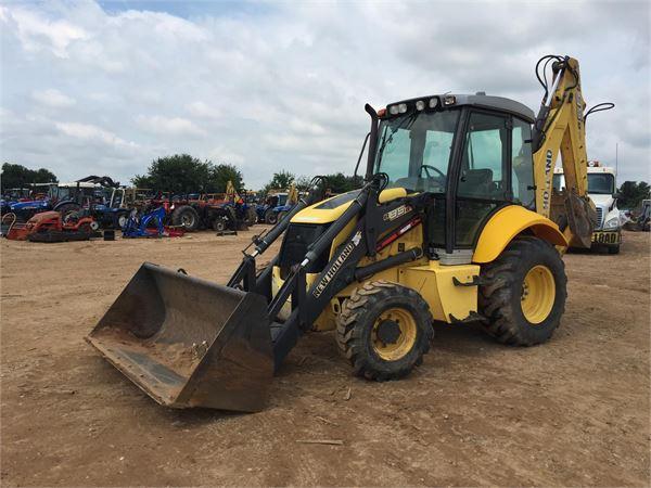 New Holland Lb75b Backhoe Loader Tractor | New Holland Backhoe ... on