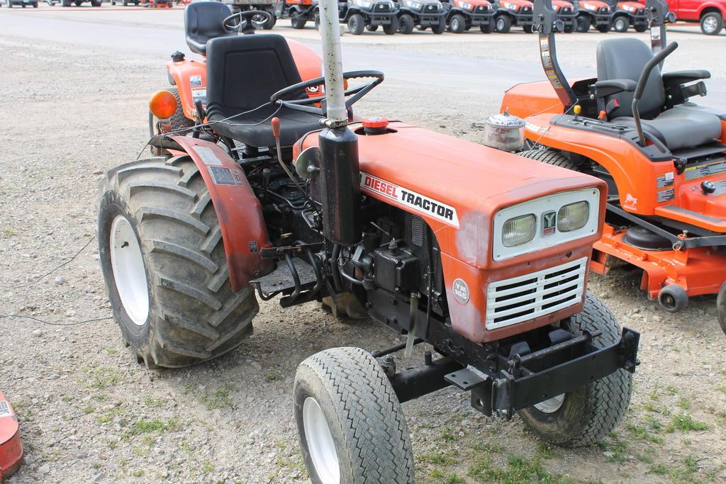 Yanmar Ym165 Farm Tractor | Yanmar Farm Tractors: Yanmar ... on