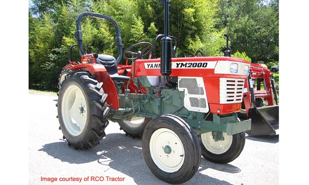 Yanmar Ym2000 Farm Tractor | Yanmar Farm Tractors: Yanmar ... on