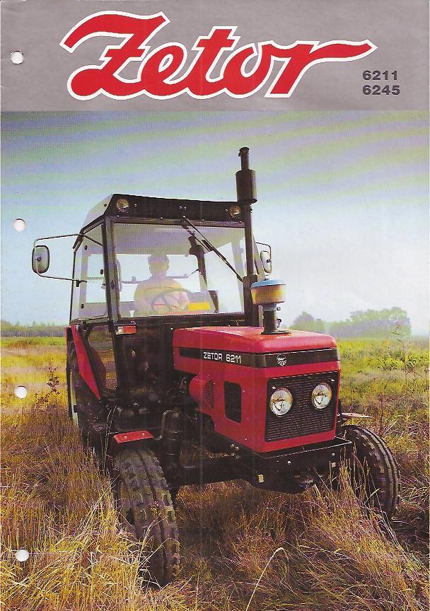 Zetor 6211 Farm Tractor | Zetor Farm Tractors: Zetor Farm