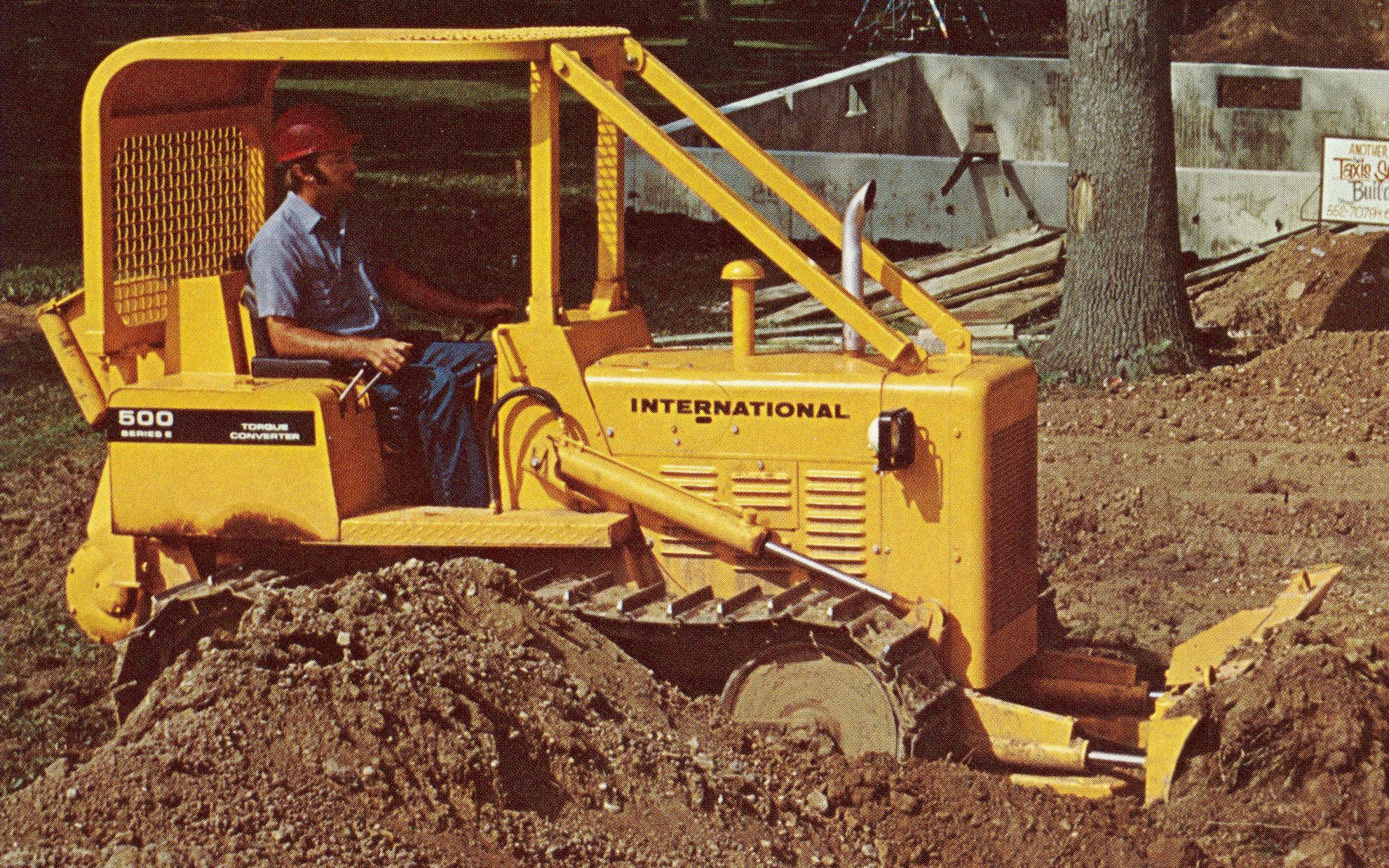 International Harvester 500c Industrial Tractor