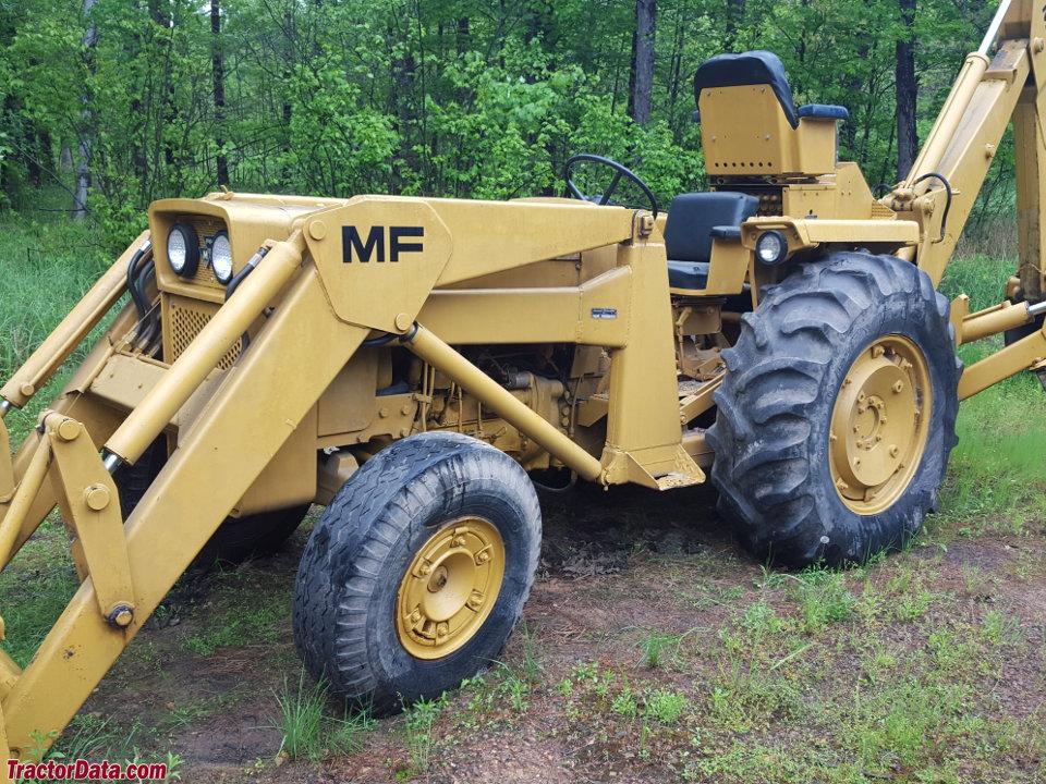 Massey Ferguson Industrial Tractors | Industrial Tractors