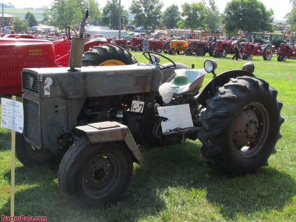 Massey Ferguson 40 Industrial Tractor | Massey Ferguson