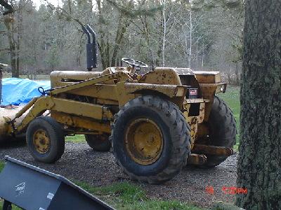 Massey Ferguson 406 Industrial Tractor | Massey Ferguson