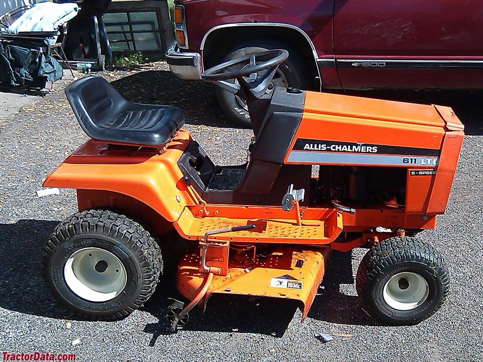 tractordata com allis chalmers 611 ltd tractor photos information