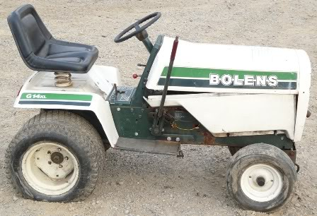 Bolens G14xl Lawn Tractor | Bolens Lawn Tractors: Bolens ... on
