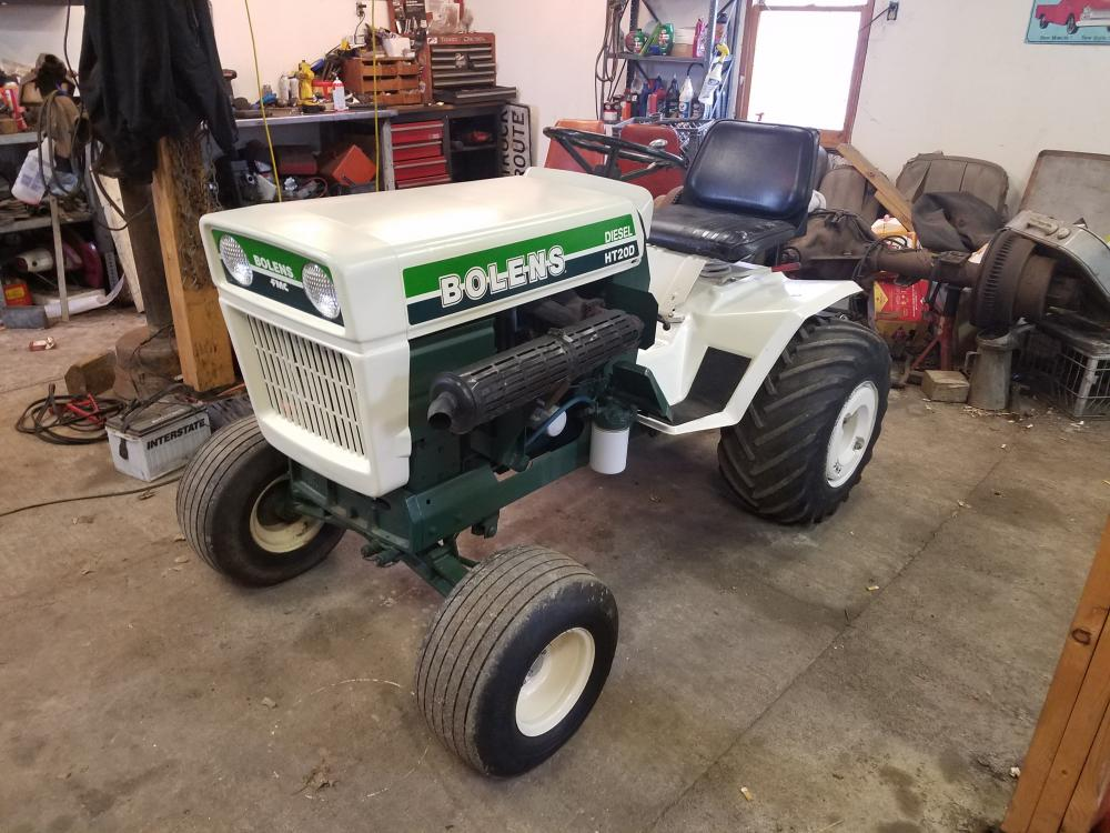 Bolens Ht 20 Lawn Tractor | Bolens Lawn Tractors: Bolens